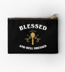 Cleric Blessed and Well Dressed Studio Pouch