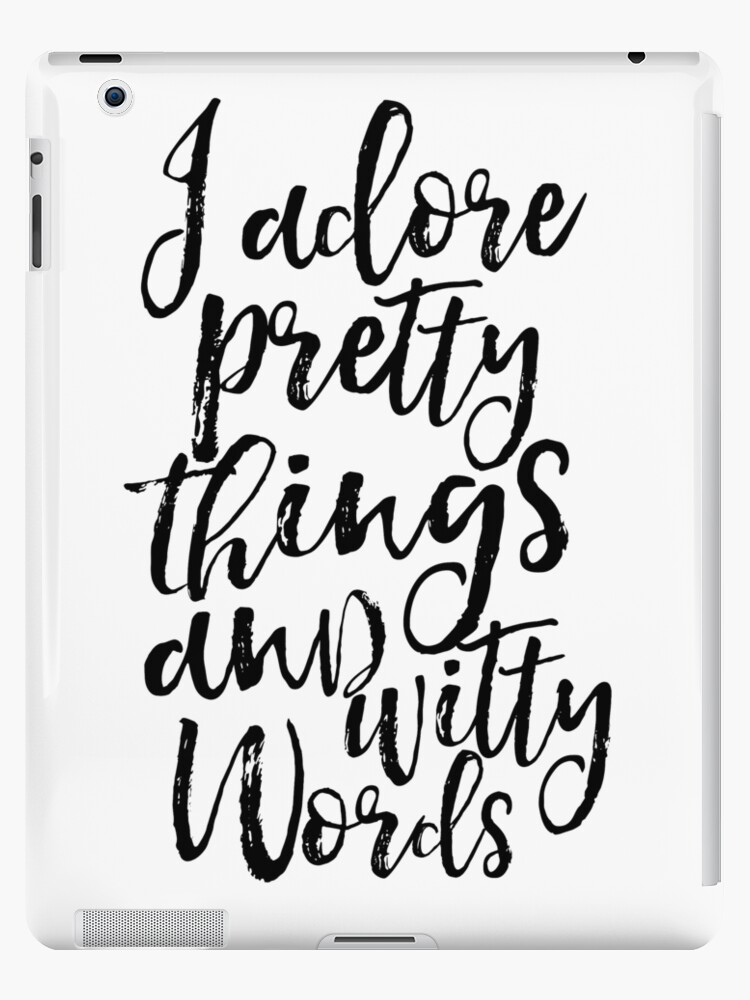 """I Adore Pretty Things And Witty Words Kate Spade """"i adore pretty t..."""