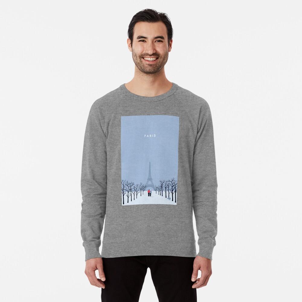 Paris Leichtes Sweatshirt