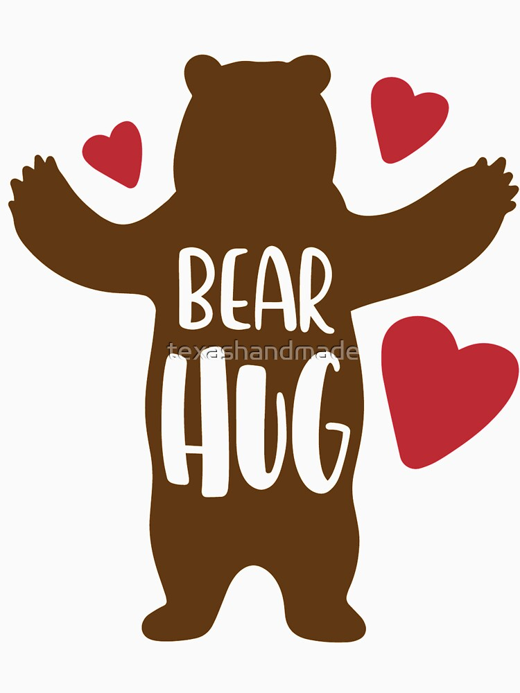 Bear Hug by texashandmade