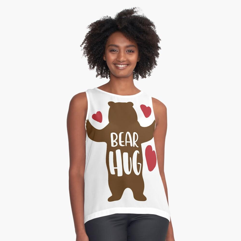 Bear Hug Sleeveless Top
