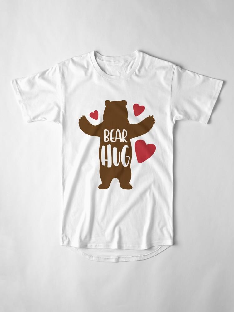 Alternate view of Bear Hug Long T-Shirt