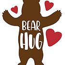 Bear Hug by texashandmade