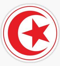 Tunisia Tunisie لجمهورية التونسية Football World Cup 2018 | National Flag | Merchandise • ID-A1  Sticker