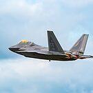 Lockheed Martin F-22 Raptor by Stephen Liptrot