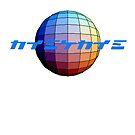 ten:ten logo, japanese text on colour sphere by tonyadamo