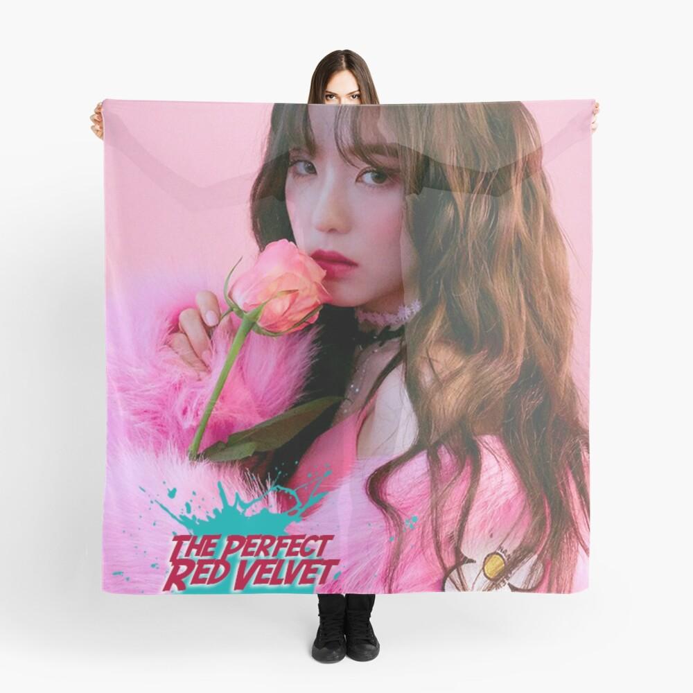 RV IRENE The Perfect Red Velvet Scarf