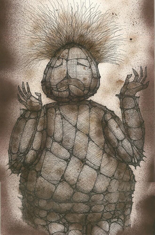 The Clown of Circenzoo by Daniele Lunghini