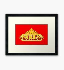 Sykes Framed Print