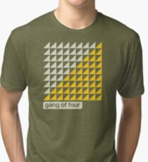 Gang of Four Helvetica Tri-blend T-Shirt