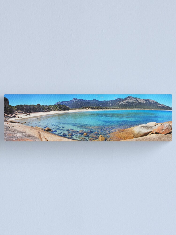 Alternate view of Trousers Point and the Strezlecki range Canvas Print