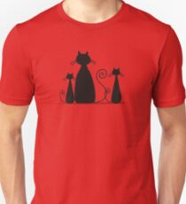 Couple cats Unisex T-Shirt