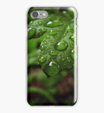 Drops of Green iPhone Case/Skin