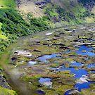 Rano Kao Volcan, Easter Island, Pacific Ocean by Monica Di Carlo
