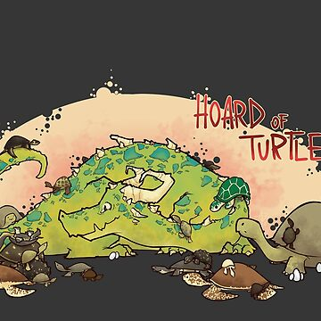 Hoard of turtles by ArryDesign