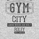 Gothic City Gym by RoleyShop