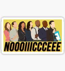 Brooklyn Nine-Nine Noice Sticker