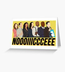 Brooklyn Nine-Nine Noice Greeting Card