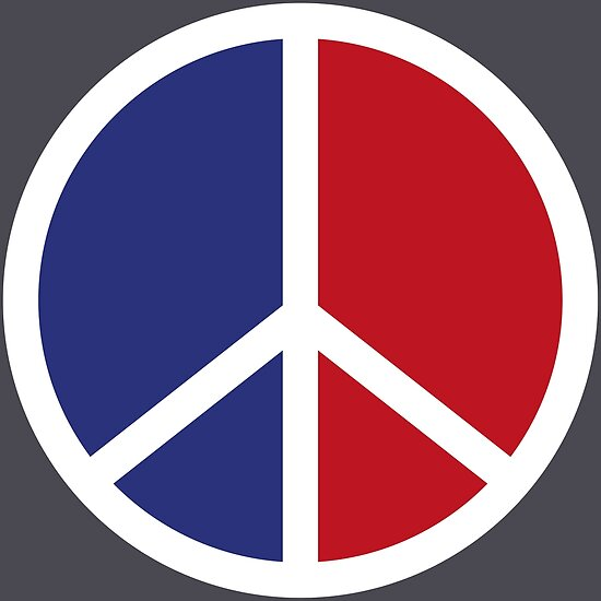 Peace And Love Symbol Posters By Chocodole Redbubble