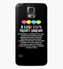 A KPOP FAN'S TALENTS Case/Skin for Samsung Galaxy