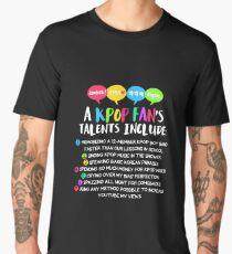 A KPOP FAN'S TALENTS Men's Premium T-Shirt