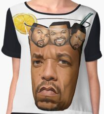 Ice T & Ice Cube - High Quality OG Chiffon Top