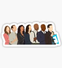 Brooklyn Nine Nine Team Sticker