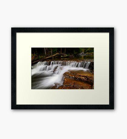 Stair Falls II Framed Print