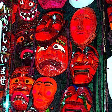 Masks - Seoul, Korea by LeanneMT