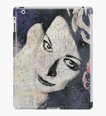 Sick On Sunday: Violet (pin up with roses graffiti portrait) iPad Case/Skin