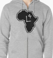 The Haplogroup in You - L4 Zipped Hoodie