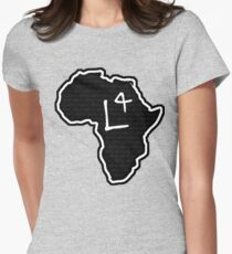 The Haplogroup in You - L4 Women's Fitted T-Shirt