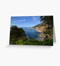 The Big Sur Greeting Card