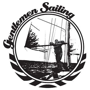 Gentlemen Sailing Black by craftyordie