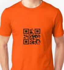 "QR -code ""Bad Motherfucker"" Unisex T-Shirt"