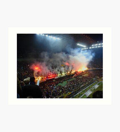 FC Internazionale stadium Art Print