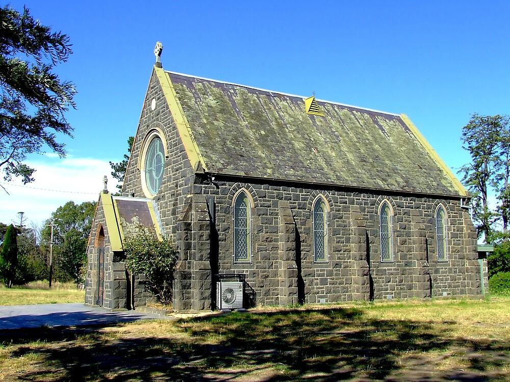 Blue stone church by SDJ1