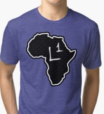 The Haplogroup in You - L1 Tri-blend T-Shirt