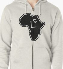 The Haplogroup in You - L5 Zipped Hoodie