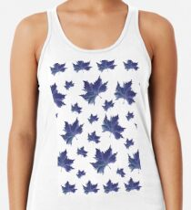 Herbst in Blau Women's Tank Top