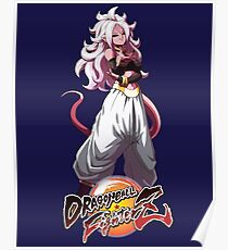 android 21 majin dragon ball fighterz