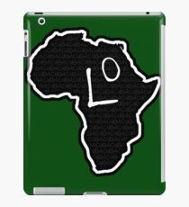 The Haplogroup in You - L0 iPad Case/Skin