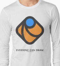 Everyone can draw Long Sleeve T-Shirt