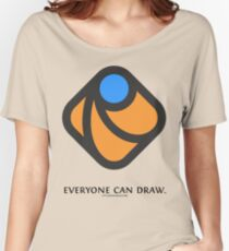 Everyone can draw Women's Relaxed Fit T-Shirt