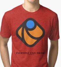 Everyone can draw Tri-blend T-Shirt