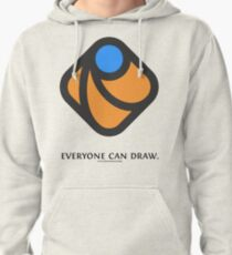 Everyone can draw Pullover Hoodie