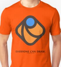 Everyone can draw Unisex T-Shirt
