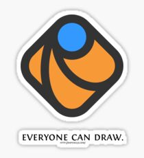 Everyone can draw Sticker
