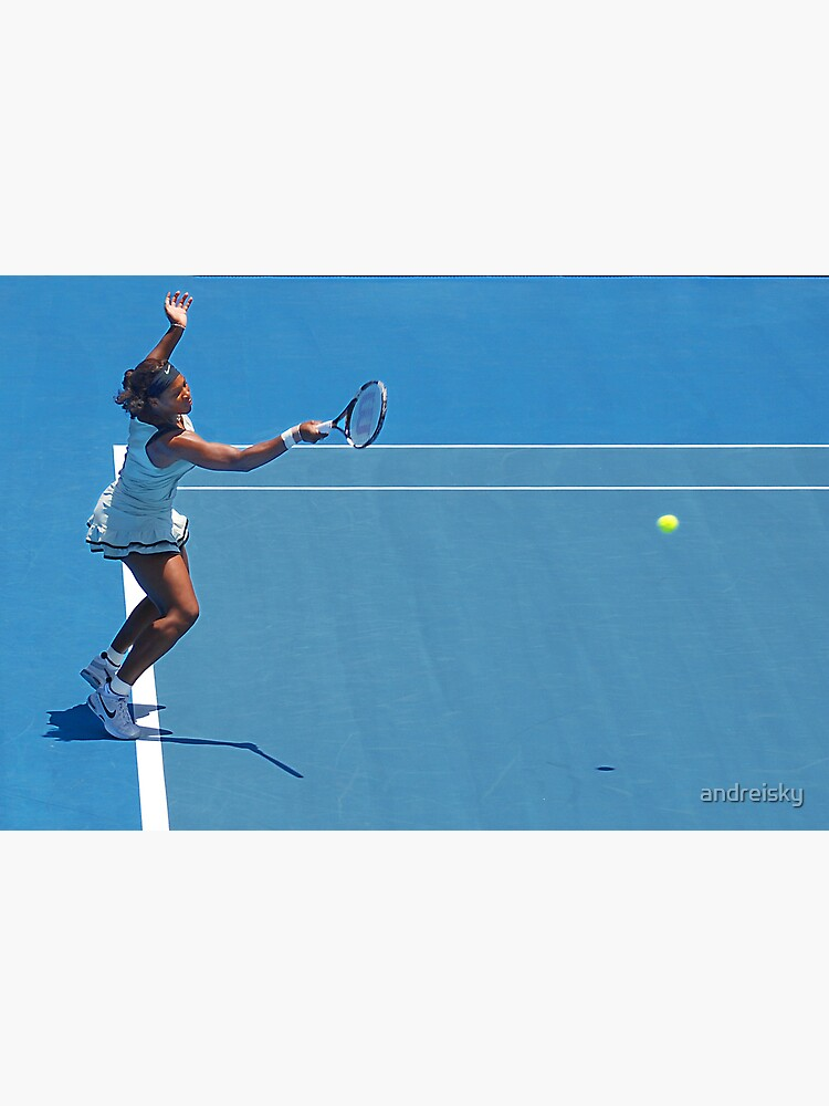 Return (Serena Williams) by andreisky