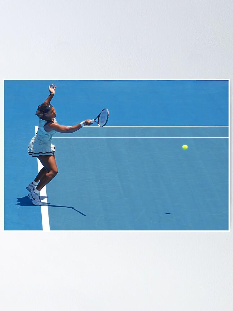 Alternate view of Return (Serena Williams) Poster